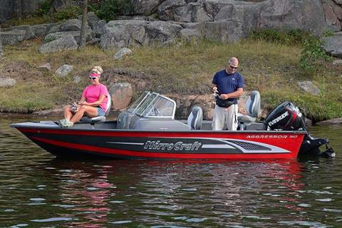 2017 MirroCraft 1663 Aggressor in Tomahawk, Wisconsin
