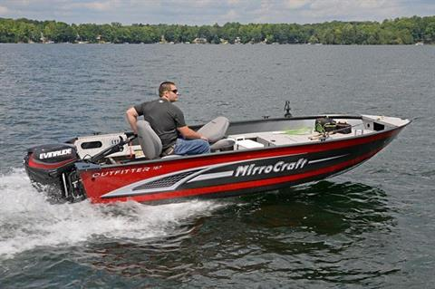 2017 MirroCraft 167T Outfitter in Roscoe, Illinois