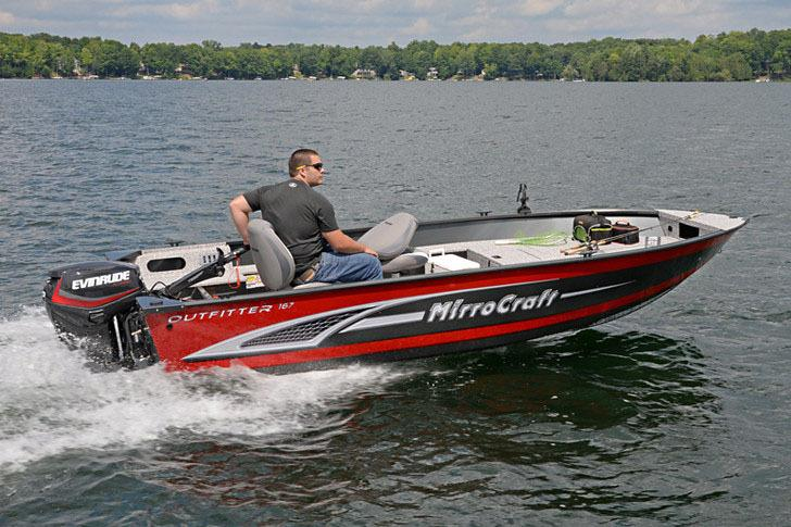 2017 MirroCraft 167T Outfitter in Green Bay, Wisconsin