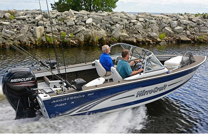 2017 MirroCraft 1861 Pro X in Green Bay, Wisconsin