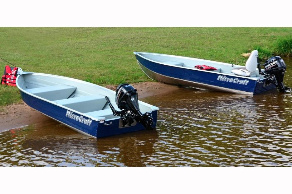 2017 MirroCraft 4602 Utility V in Tomahawk, Wisconsin