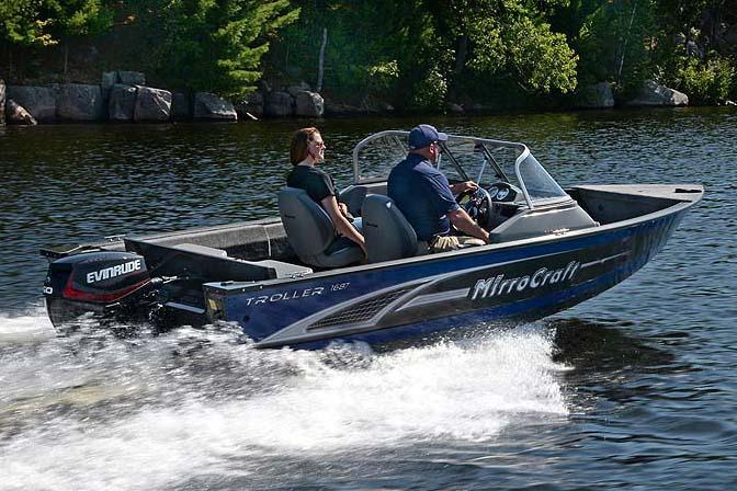 2018 MirroCraft 1687 Troller EXP in Black River Falls, Wisconsin
