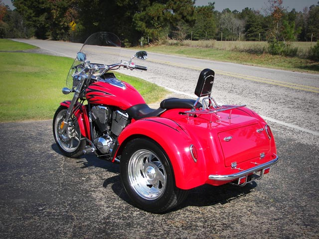 2021 Motor Trike VTX 1800 in Pasco, Washington - Photo 9