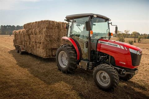 2019 Massey Ferguson 1758 HST Cab in Warren, Arkansas - Photo 3
