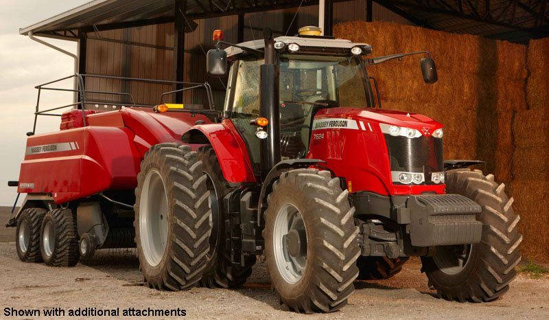 2019 Massey Ferguson 7614 Row Crop Tractor (Dyna-4) in Hazlehurst, Georgia