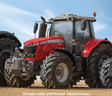 2019 Massey Ferguson 7715S Row Crop Tractor (Dyna-6) in Warren, Arkansas