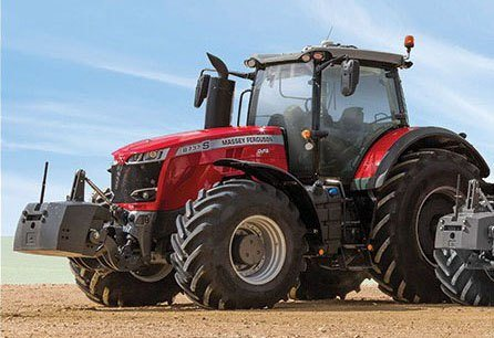 2019 Massey Ferguson 8735S Row Crop Tractor in Warren, Arkansas
