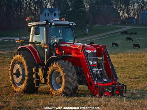 2019 Massey Ferguson 7715 Deluxe Row Crop Tractor (Dyna-VT) in Warren, Arkansas