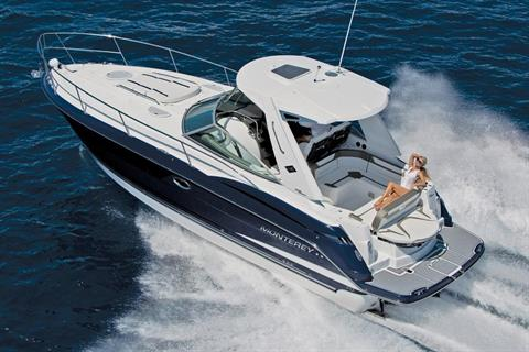 2017 Monterey 355 Sport Yacht in Holiday, Florida