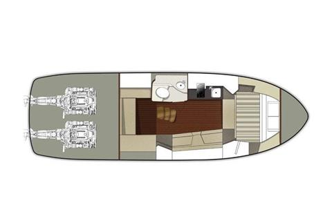 2020 Monterey 335 Sport Yacht in Saint Peters, Missouri - Photo 9
