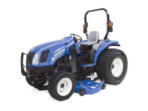2016 New Holland Agriculture Boomer Deluxe CVT 46D in Littleton, New Hampshire