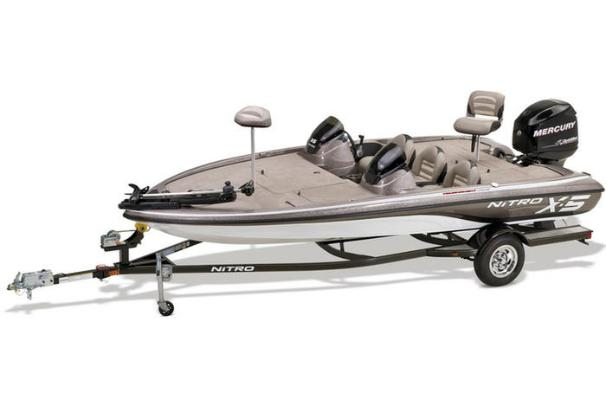 The ready-to-fish X-5 comes with a MotorGuide trolling motor, Mercury outboard and custom-fit trailer. - Photo 14