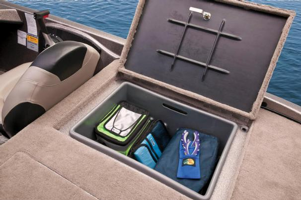 Deep storage compartments in the aft deck ensure all your gear stays dry and out of the way. - Photo 20