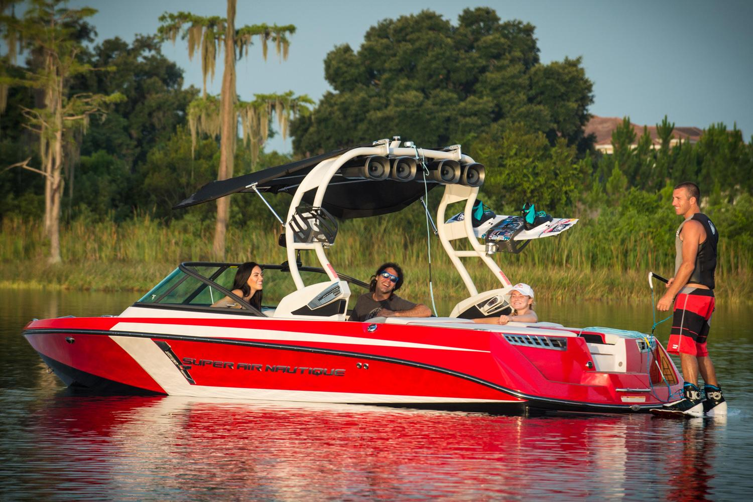 2015 Nautique Super Air Nautique 210 in Naples, Maine