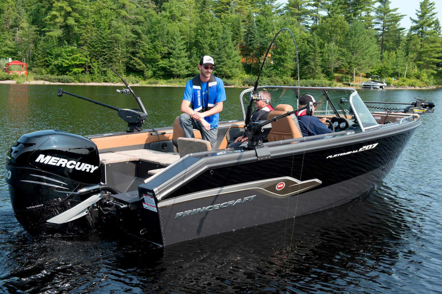 2016 Princecraft Platinum SE 207 in Center Ossipee, New Hampshire