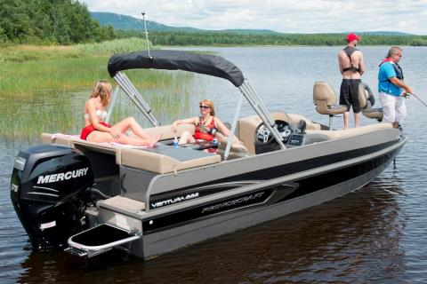 2016 Princecraft Ventura 222 in Center Ossipee, New Hampshire