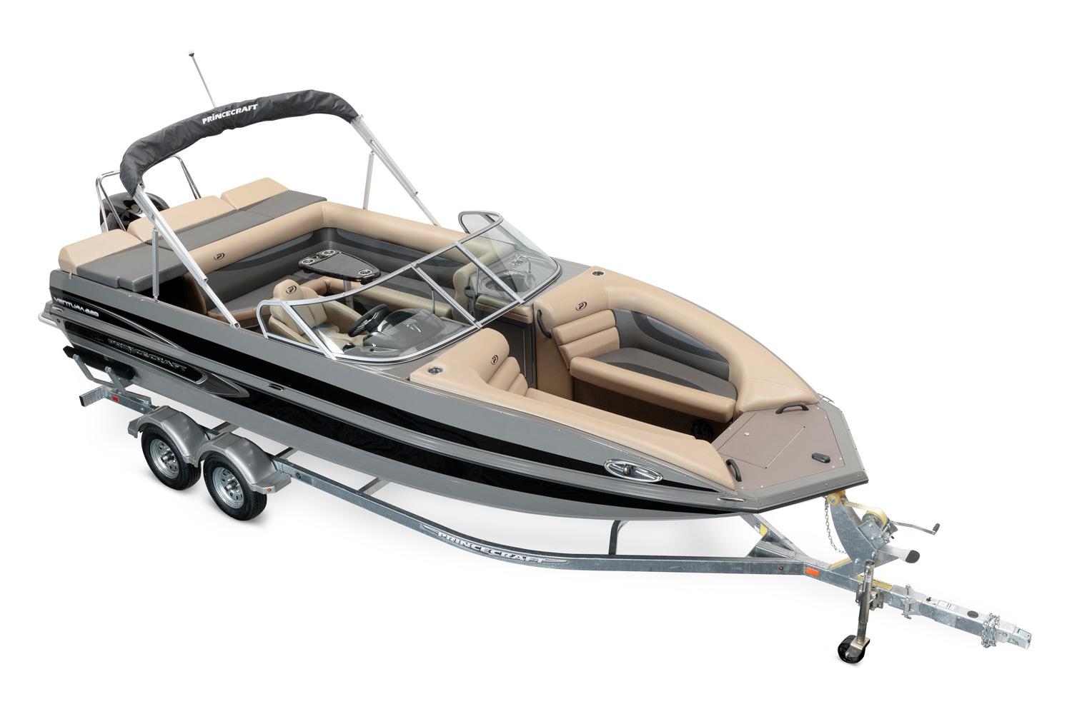 2017 Princecraft Ventura 220 WS in Center Ossipee, New Hampshire