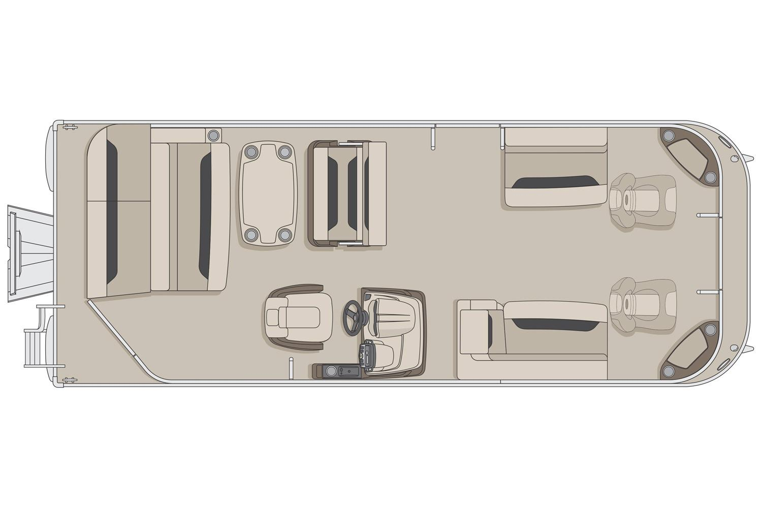 2017 Princecraft Sportfisher 23-2S LT in Center Ossipee, New Hampshire