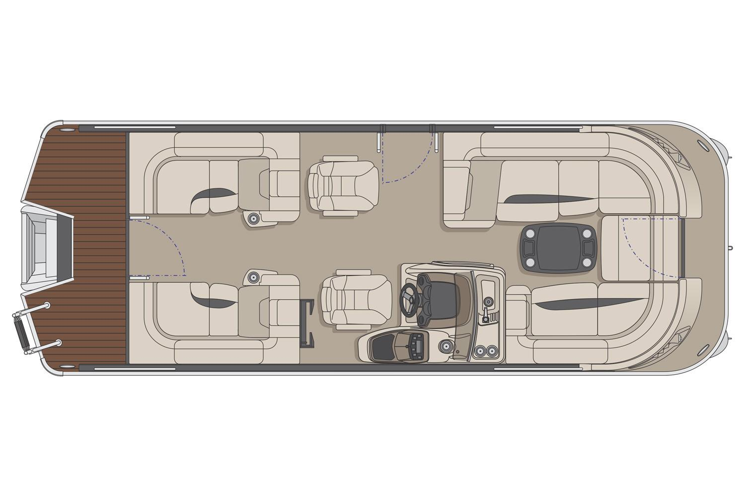 2017 Princecraft Vogue 23 XT in Center Ossipee, New Hampshire