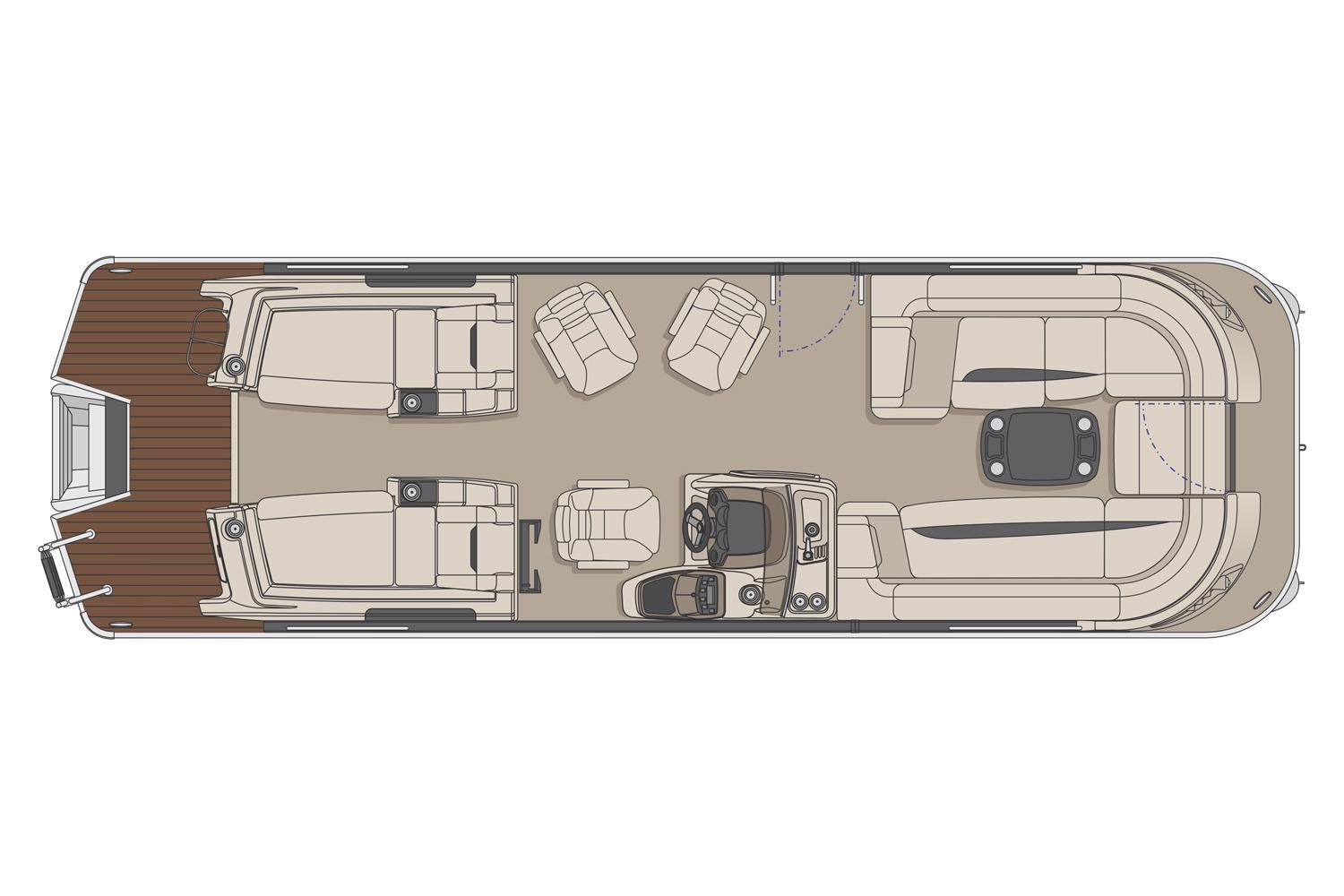 2017 Princecraft Vogue 27 XT in Center Ossipee, New Hampshire