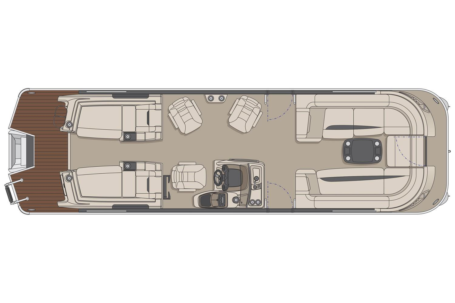 2017 Princecraft Vogue 29 XT in Center Ossipee, New Hampshire