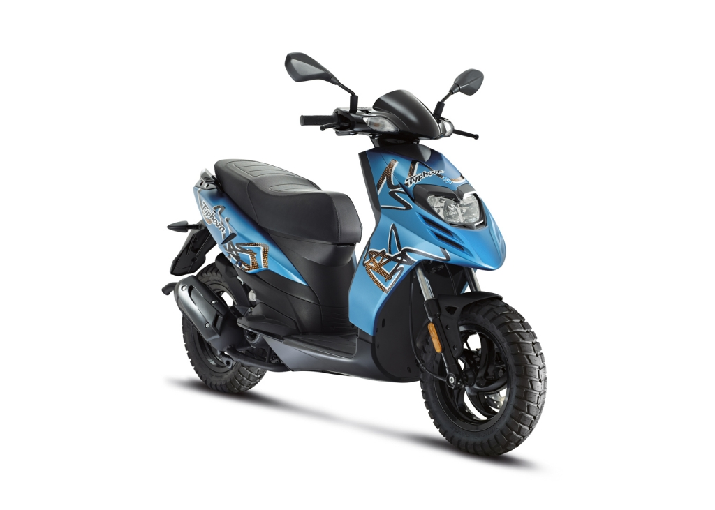 2017 Piaggio Typhoon 125 in Downers Grove, Illinois
