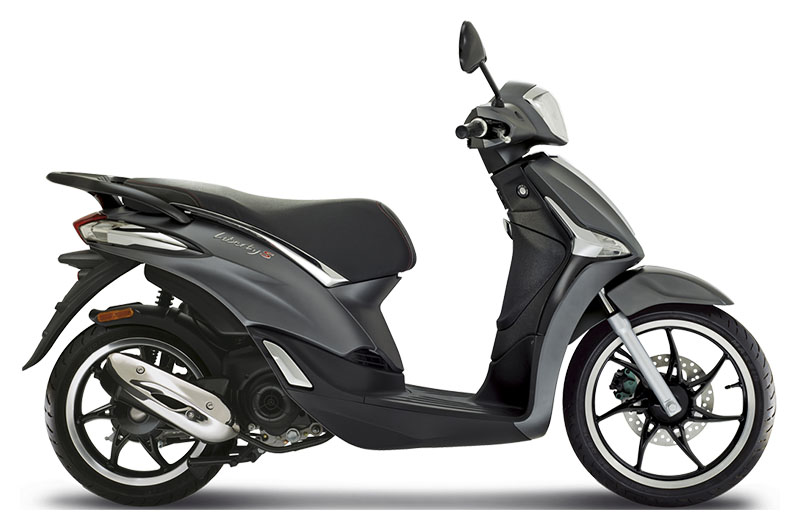 2019 Piaggio Liberty S 50 in Columbus, Ohio