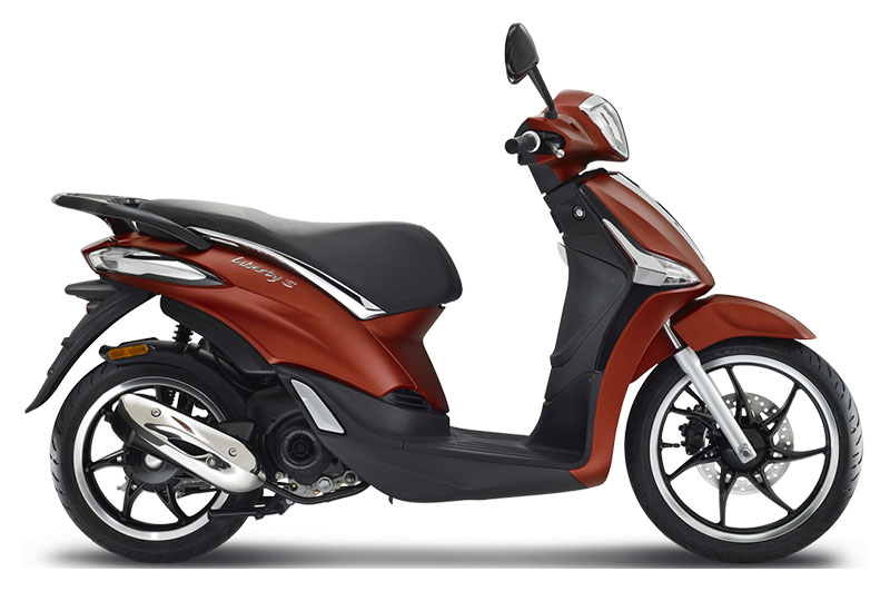 2019 Piaggio Liberty S 50 in Neptune, New Jersey