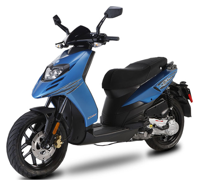 2019 Piaggio Typhoon 50 in Shelbyville, Indiana