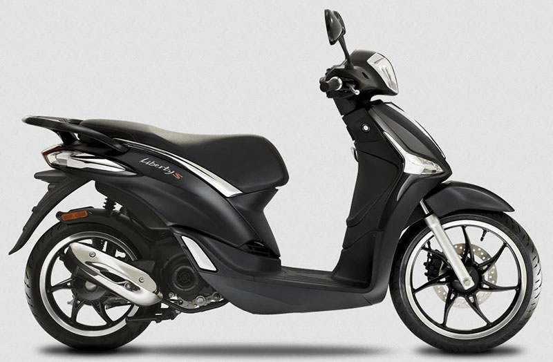 2020 Piaggio Liberty S 50 in Columbus, Ohio