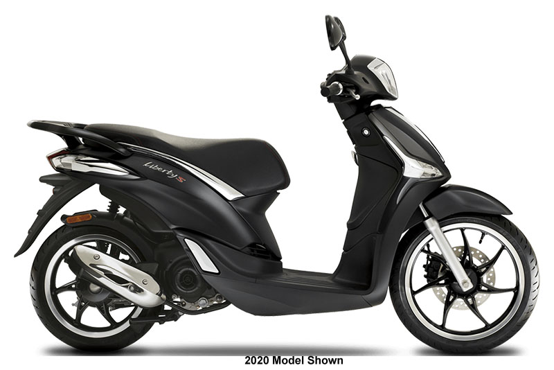2021 Piaggio Liberty S 50 in Francis Creek, Wisconsin