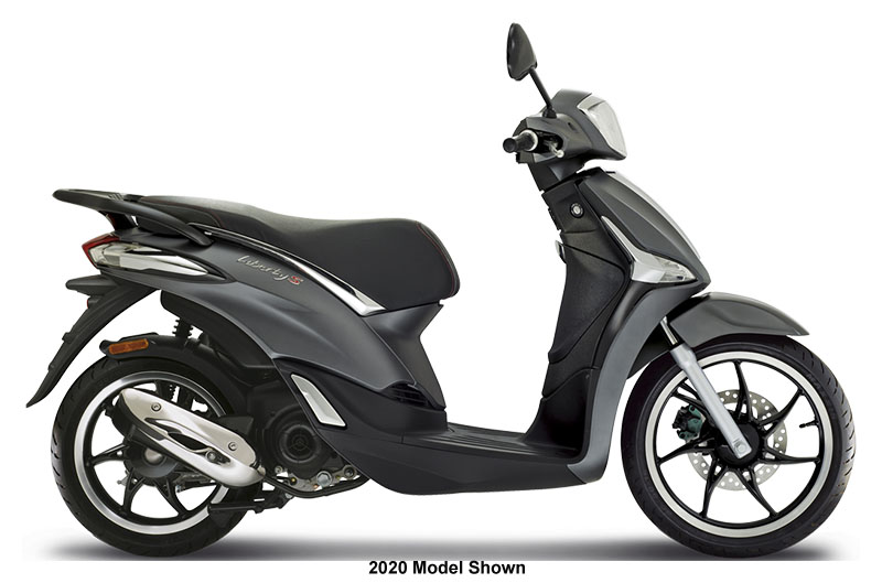 2021 Piaggio Liberty S 50 in Woodstock, Illinois