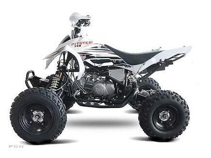 2012 Pitster Pro FXR 125R Mini ATV in Portland, Oregon