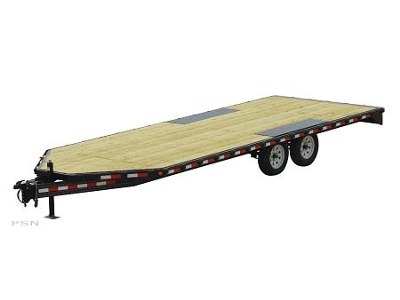 2007 PJ Trailers Light Duty Deckover in Kansas City, Kansas