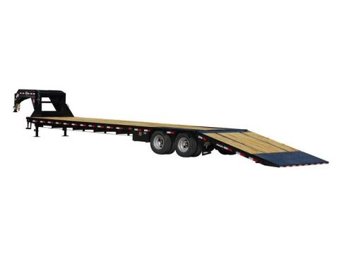 2015 PJ Trailers Low-Pro with Hydraulic Dove (LY) in Kansas City, Kansas