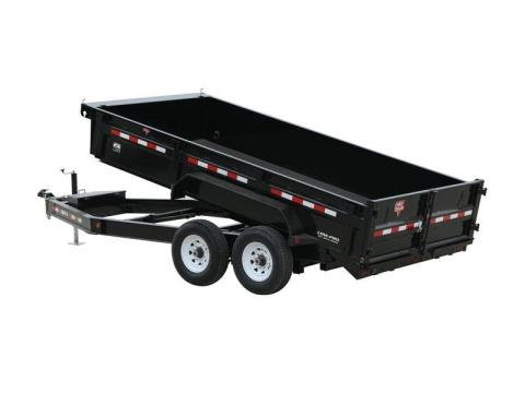 2015 PJ Trailers 83 in. Low Pro Dump (DL) in Kansas City, Kansas
