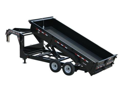 2015 PJ Trailers 83 in. Low Pro XL Dump (DJ) in Kansas City, Kansas