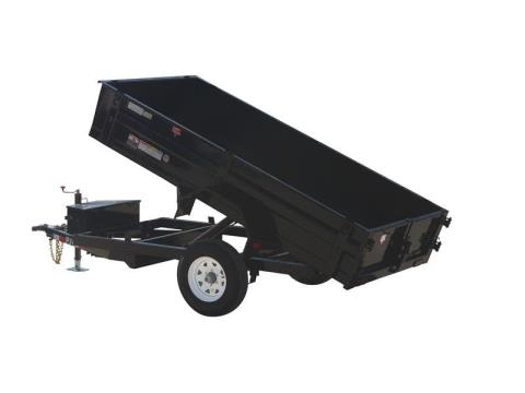 2015 PJ Trailers 83 in. Tandem Axle Dump (D7) in Kansas City, Kansas