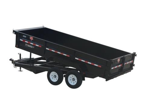 2015 PJ Trailers 83 in. XL Dump (D9) in Kansas City, Kansas