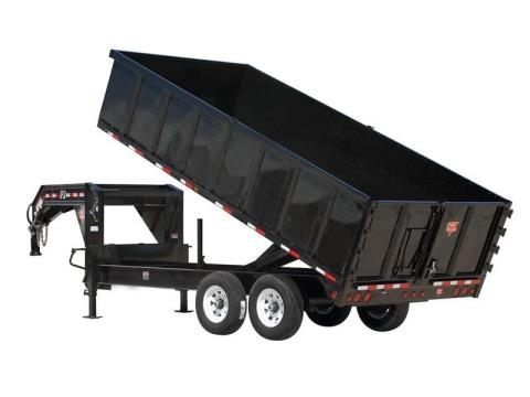 2015 PJ Trailers 91 in. Deckover Dump (DS) in Kansas City, Kansas