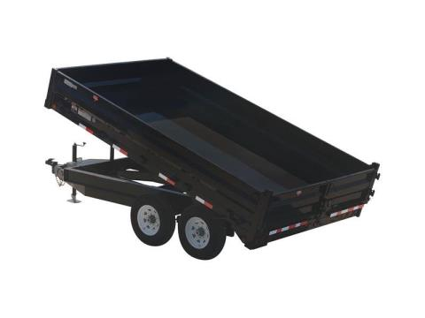 2015 PJ Trailers 96 in. Deckover Dump (D8) in Kansas City, Kansas