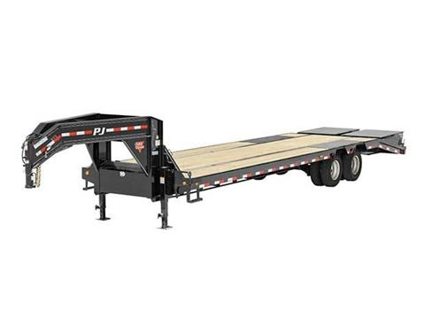 2016 PJ Trailers 14 in. I-Beam Low-Pro with Duals (L3) in Kansas City, Kansas