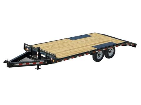 2016 PJ Trailers 8 in. I-Beam Deckover (F8) in Kansas City, Kansas