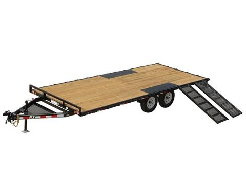 2016 PJ Trailers Light Duty Deckover 5 in. Channel (L5) in Kansas City, Kansas