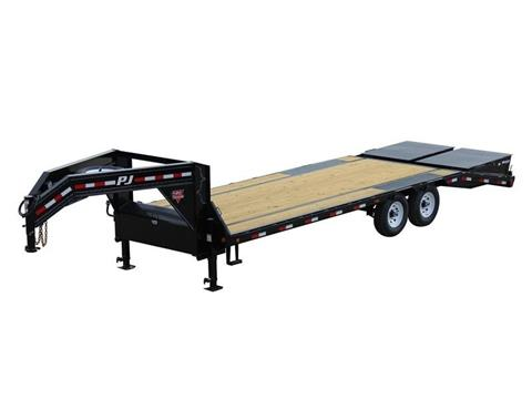 2016 PJ Trailers Low-Pro Flatdeck with Singles (LS) in Kansas City, Kansas