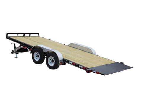 2016 PJ Trailers 83 in. Hydraulic Quick Tilt (TH) in Kansas City, Kansas