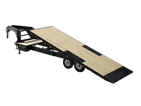 2016 PJ Trailers HD Deckover Tilt (T9) in Kansas City, Kansas