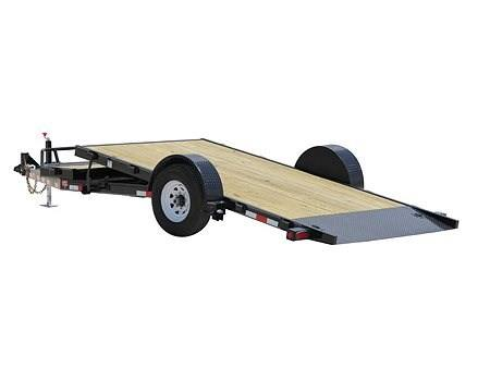 2016 PJ Trailers Single Axle HD Tilt (T1) in Kansas City, Kansas
