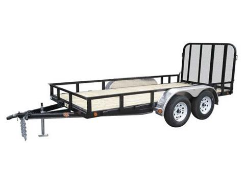 2016 PJ Trailers 77 in. Channel Utility (U7) in Kansas City, Kansas