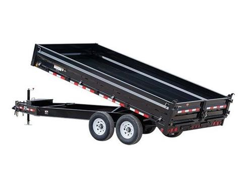 2016 PJ Trailers 10 in. I-Beam Deckover Dump (DT) in Kansas City, Kansas